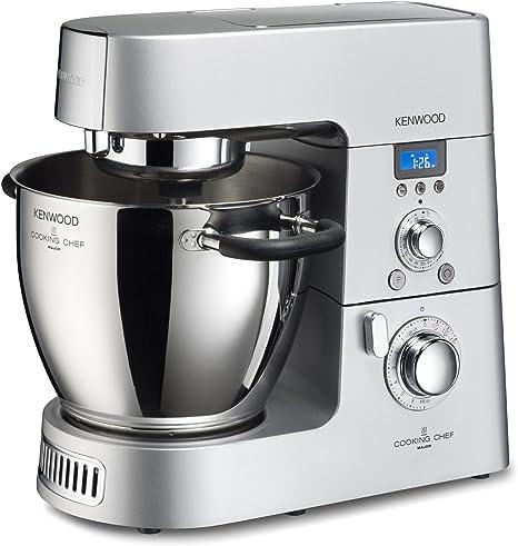 Kenwood Cooking Chef KM094 Robot de cocina por inducción, 1500 W, Acero inoxidable, Plata: Amazon.es: Hogar