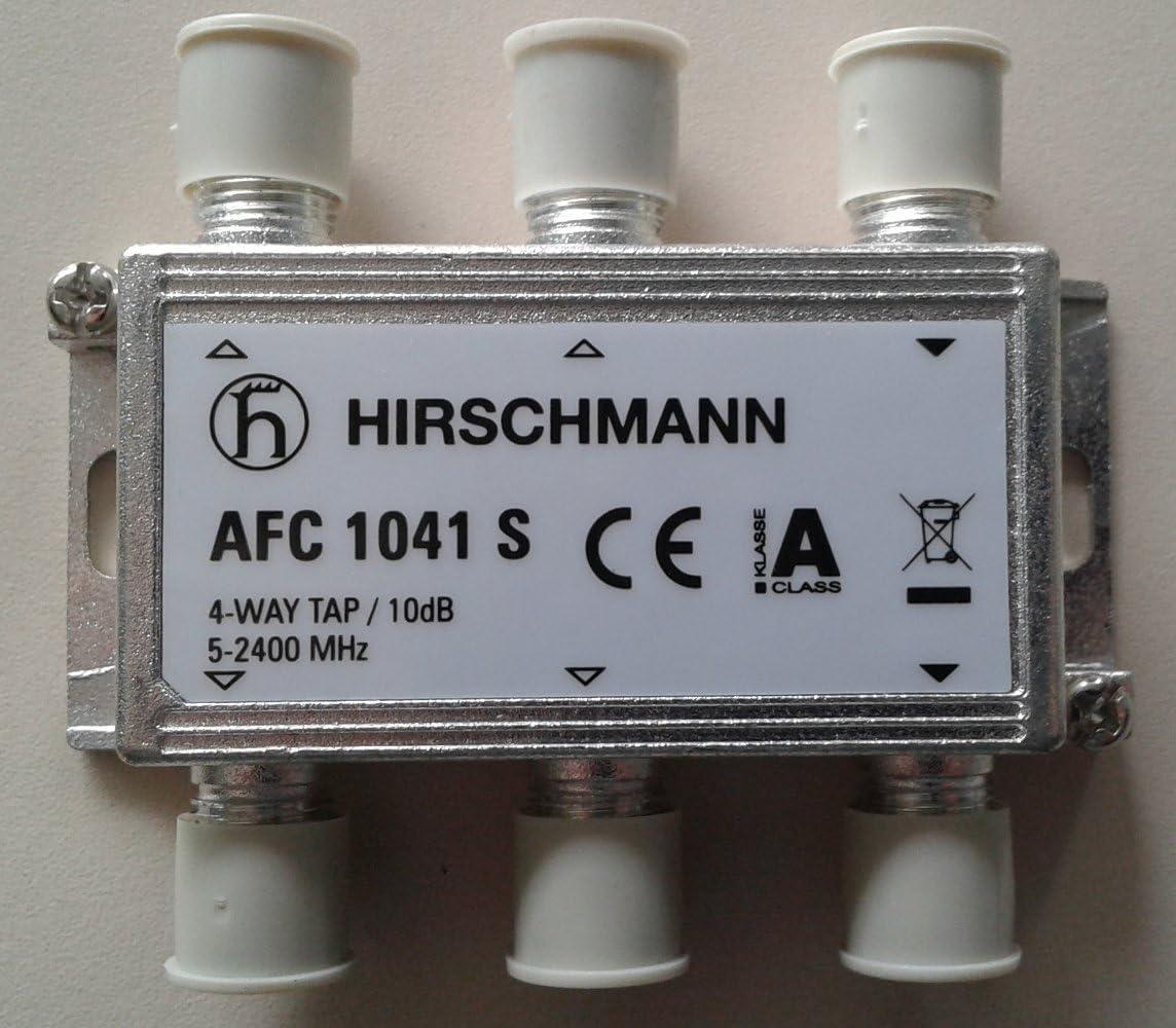 Hirschmann - Derivador 4 salidas 10 dB banda 5-2.400 MHz ...