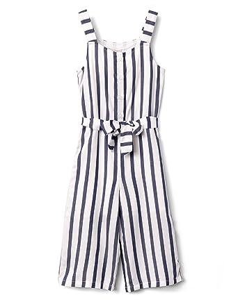 b7c43cba1d5 Amazon.com  Gymboree Girls  Little Sleveless Striped Romper  Clothing