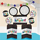 """Fun-Filled Retirement Party """"Happy Retirement"""" Room Decorating Kit, Paper"""