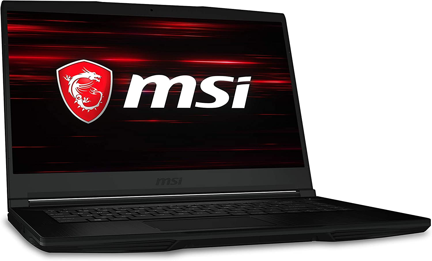 "MSI GF63 Thin 9SCX-459 15.6"" Gaming Laptop Intel Core i7-9750H GTX1650 8GB 1TB HDD Win10"