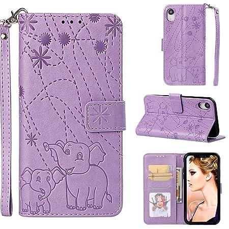 YKTO Vegan Leder Wallet Case iPhone XR 6.1