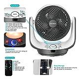 FOCHEA Air Circulator Fan Powerful Oscillating Desk