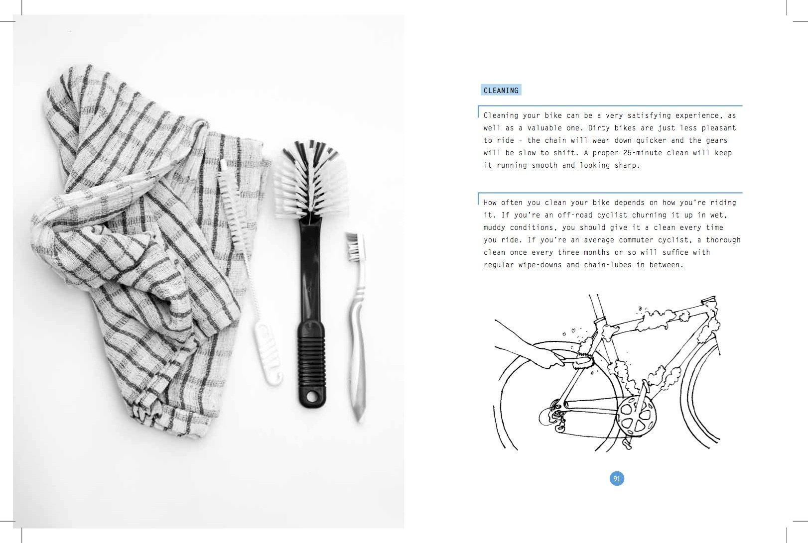 The Bike Owners Handbook Peter Drinkell Graeme Fife Bicycle Anatomy Expert Diagram 9780956205384 Books