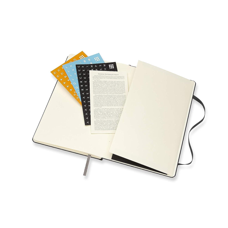Schwarz 2020 Soft Cover Taschenkalender Moleskine Wochenkalender Large A5 Horizontal 12 Monate