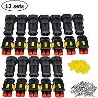 12 sets auto stekker, auto draadconnector, waterdichte auto connector, auto elektrische connectoren stekker, waterdicht…