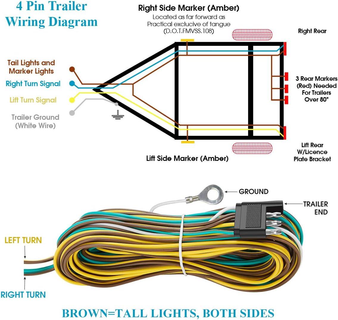 Trailer Light Wiring Diagram 4 Pin - Database