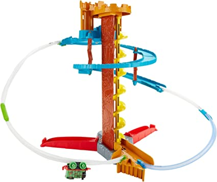 Fisher-Price Thomas The Train Minis Twist-n-Turn Stunt Set by