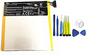 Dentsing C11P1303 (3.8V 15Wh) Tablet Battery Compatible with ASUS Google Nexus 7 2nd Generation 2013 ME571 ME571K ME571KL K008 K009 Series Notebook with Tools