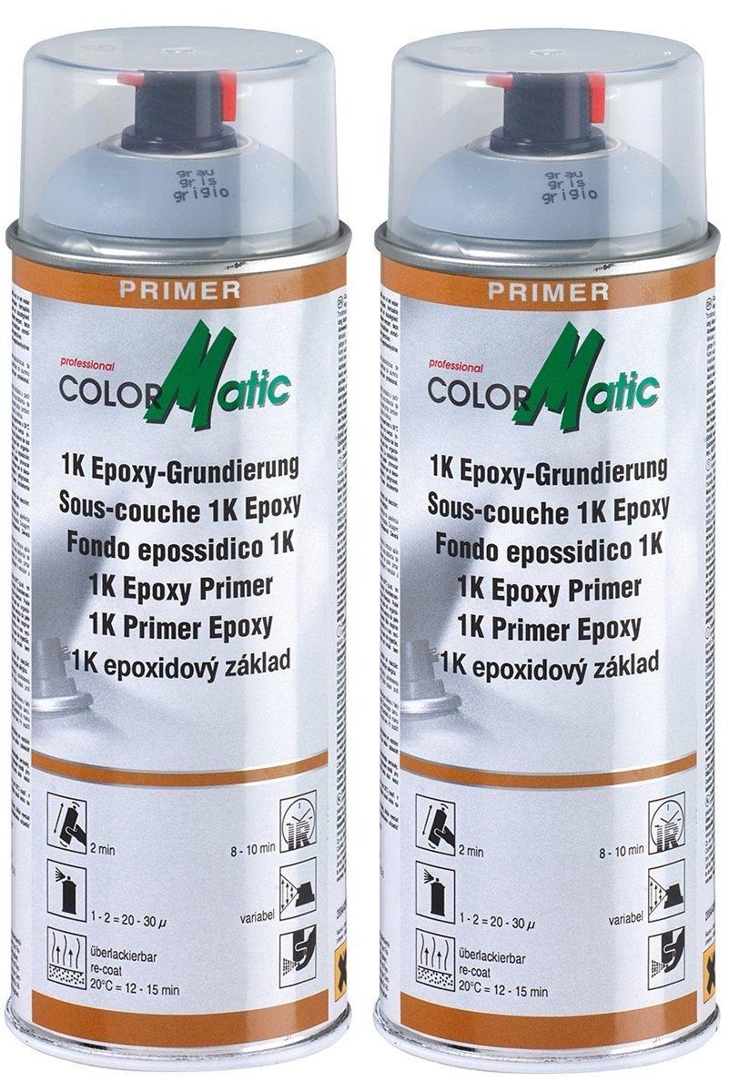 colormatic 1 K epoxy de imprimació n Primer 2 x spray 400 ml 174414 Motip Dupli