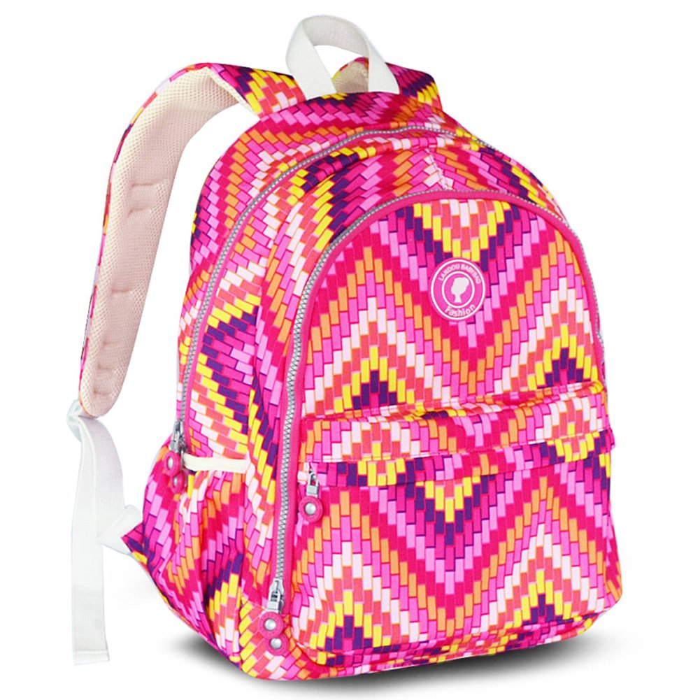 Landuo Women's Baby Diaper Backpack Guilted Nappy Bag Size M Pink by Landuo B0183MQOEW
