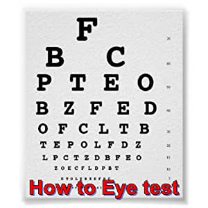 Amazon com: How to Eye test: Appstore for Android