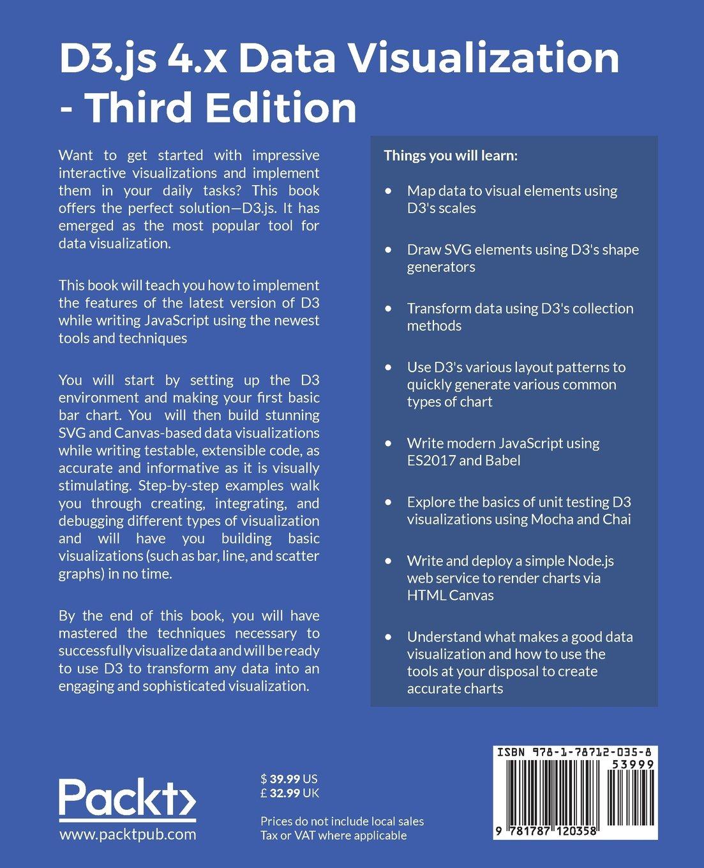 D3 Js 4 X Data Visualization Third Edition Ndrew Rininsland Swizec Teller 9781787120358 Amazon Com Books