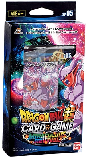 Bandai BCLDBSP1176 Dragon Ball Super Card Game: Special Pack ...