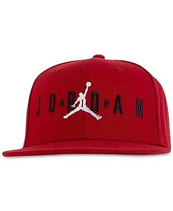 huge selection of 16b50 0dcbf Nike Boy`s Jordan Jumpman Air Cap (Gym Red(9A0128-R78)