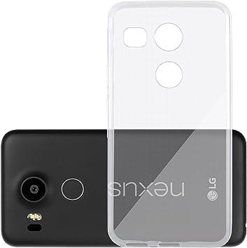 Cadorabo LG Nexus 5X Funda de Silicona TPU Air en Transparente ...