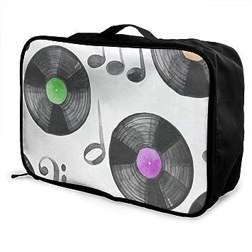 Amazon.com: Bolsas de viaje para discos de música, maleta ...