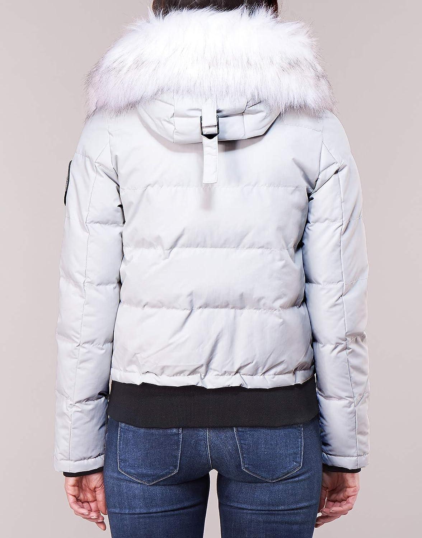 Superdry Everest Ella Bomber Jackets Femmes Grey Jackets Grey