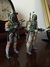 Amazon.com: Star wars Revoltech Boba Fett painted action figure: Toys