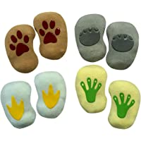 Baby Socks Gift Set - Unique Baby Shower or Newborn Present | Animal Footprints