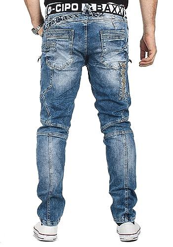 Cipo & Baxx Designer Herren Jeans Hose CD293
