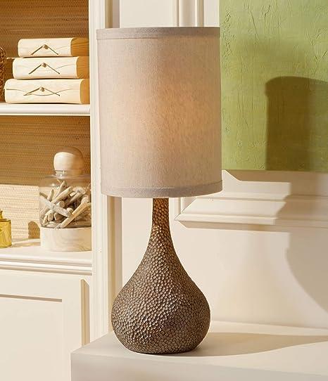 Amazon.com: chalane Hammered calabaza de bronce Lámpara de ...