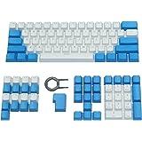 Happy Balls PBT Keycaps Backlit Cherry MX Keycap Set Doubleshot OEM Profile Translucent with Keycap Puller for US Layout 61 8