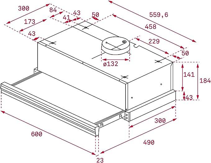 Teka extraible - Campana cnl 6400-s inoxidable clase de eficiencia energetica e: Amazon.es: Grandes electrodomésticos