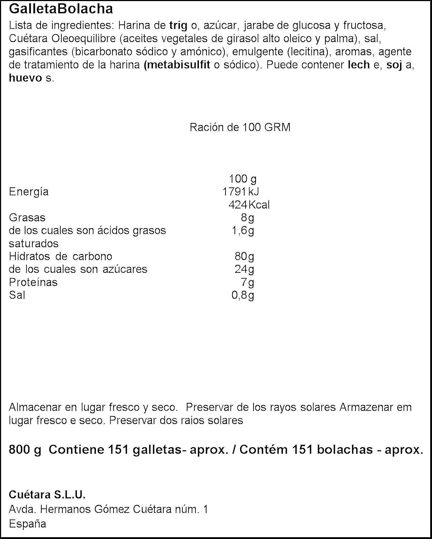 Cuetara - Galletas Maria 800 g: Amazon.es: Alimentación y bebidas