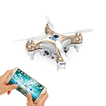 Smallest FPV Drone With Camera Live Video IOS Android APP Phone Wifi Remote Control Mini