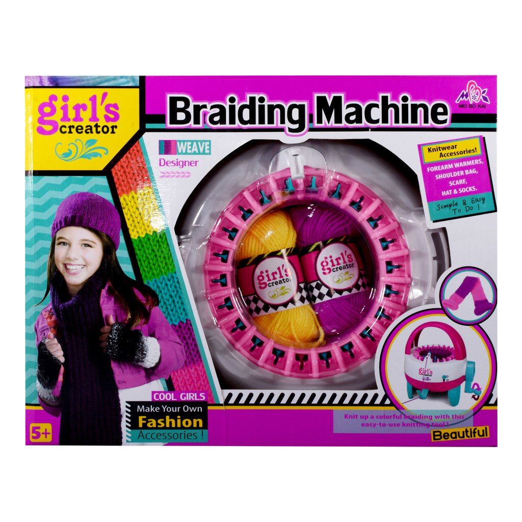 Buy rr toys girls creator braiding machine for kids in multi color online at low prices in india amazon in