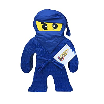 APINATA4U 2FT Tall Blue Ninja Pinata: Toys & Games