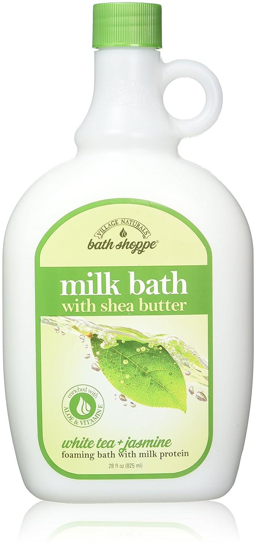 Amazon.com : Village Naturals Bath Shoppe, Milk Bath, White Tea and ...