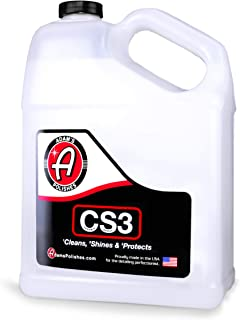 product image for Adam's CS3 Clean, Shine, & Protect | Ultimate Top Coat Waterless Wash & Wax Ceramic Spray Coating | All-in-One Cleaner, Polish, Hydrophobic Polymer Paint Sealant Protection (12oz) (Gallon)