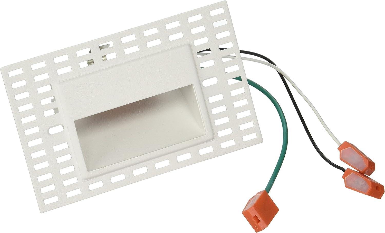 3000K WAC Lighting WL-LED100TR-C-WT 120V Trimless Horizontal Step Light