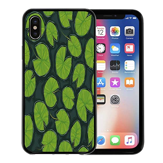 new style c5fc2 d062c Amazon.com: Semtomn Phone Case for Apple iPhone Xs case,Green Water ...