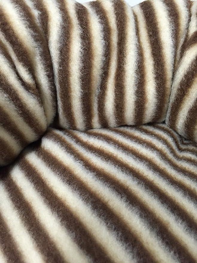 Icegrey Cama para Perro y Gatos Acolchada Casa Mascotas Cama Saco de Dormir Cojin Cálido para Cachorro Perrito Gato Cebra 50x38cm: Amazon.es: Hogar