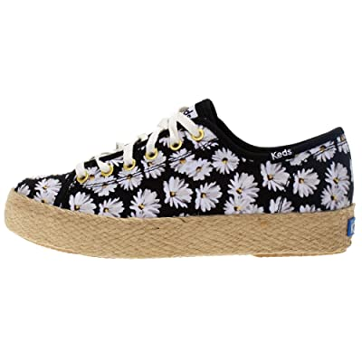 Keds Womens Triple Kick Daisy Casual Sneakers, | Fashion Sneakers