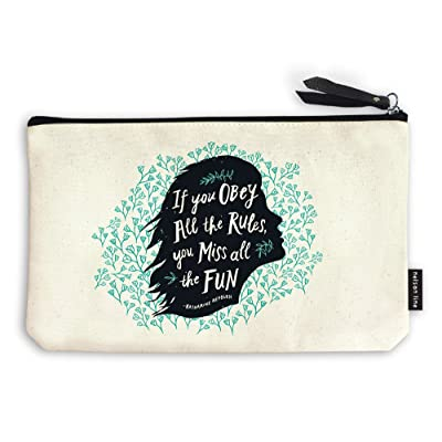 Obey The Rules - Quip Zipper Pouch