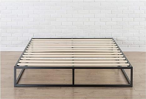 Zinus Somier Joseph Modern Studio 150x190x25cm, con plataforma Low Profile Bed Frame