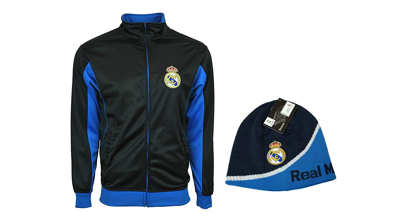 Real Madrid C.F. Oficial Licencia fútbol y Chaqueta de chándal ...