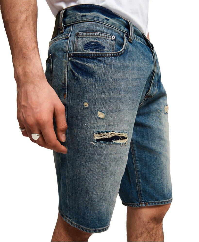 Superdry Men's Loose Denim Shorts (Market Mid Warn, 34) by Superdry (Image #3)