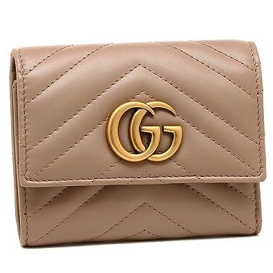 online store 4e442 8c3ae Amazon | [グッチ] 折財布 レディース GGマーモント GUCCI ...