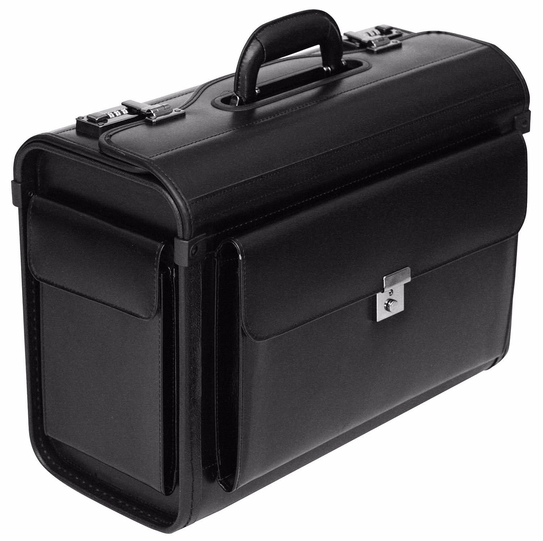 Leder Pilot Fall Aktentasche Flight Tasche Handgepäck Business 40,6cm Laptop Reise