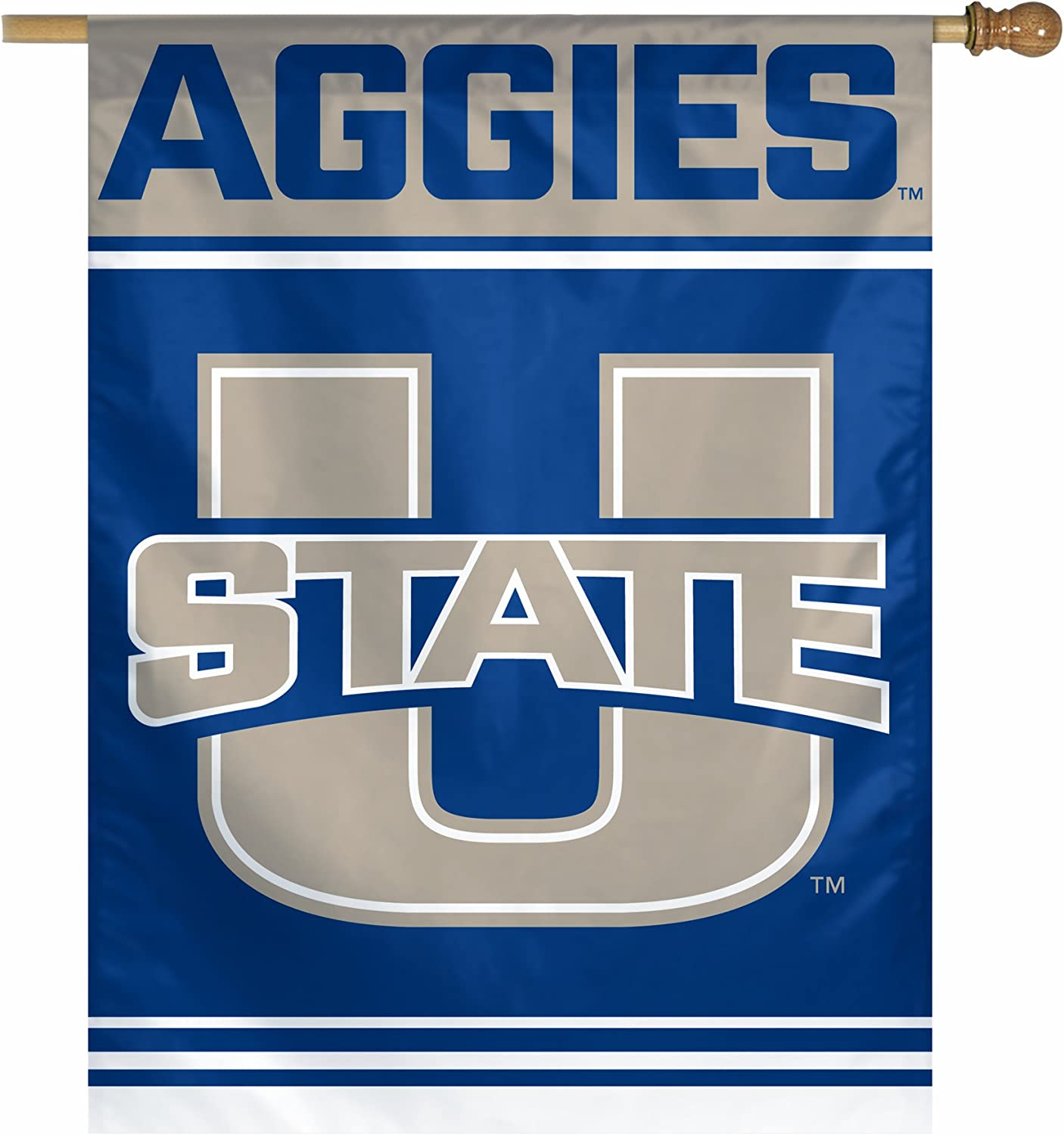 27-Inch by 37-Inch WinCraft NCAA Vertical Flag
