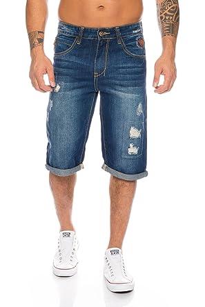 101ced500c0e Herren Jeans Shorts kurze Hose Bermuda Hose Sommer Denim Short H-073-W28-W38   Amazon.de  Bekleidung