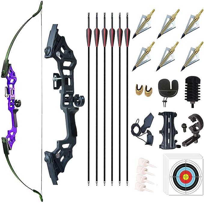 1pcs Silver Hunting Recurve Bow Clicker Archery Aluminum Arrow Adjustable