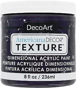 Decoart Texture Acrylics 8oz Deep Plum