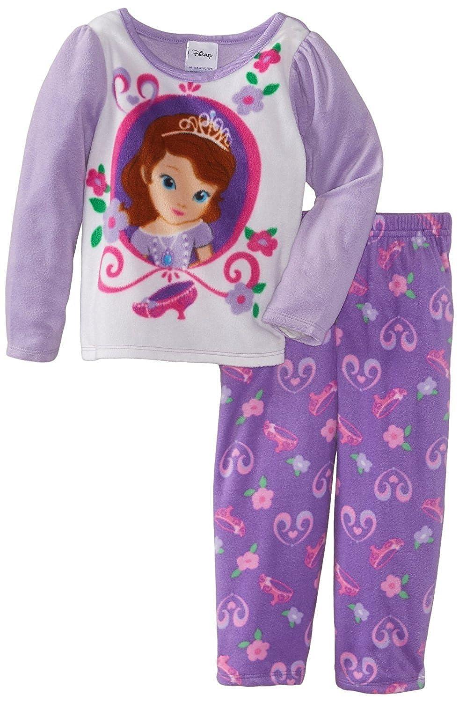 Disney Sofia The First Girl s 2-6X Toddler Princess Fleece Pajama ... 53f06ae08