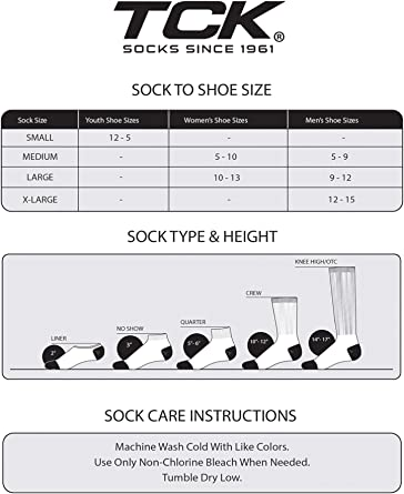 Compression /& Extra Cushion Zones TCK High Over The Knee Athletic Sports Performance Socks with Flex